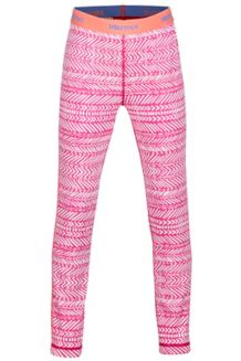 Girl's Lana Tight, Bright Ruby Arrows, medium