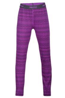 Girl's Lana Tight, Mystic Purple Alps, medium