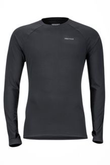 Kestrel LS Crew, Black, medium