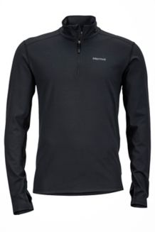 Harrier 1/2 Zip, Black, medium