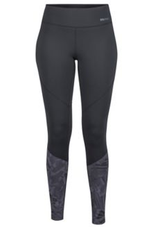 Wm's Lana Tight, Black/Thrasher, medium
