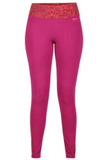 Wm's Lana Tight, Magenta/Magenta Terrain, medium