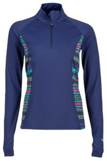 Wm's Meghan 1/2 Zip, Arctic Navy/Totem, medium