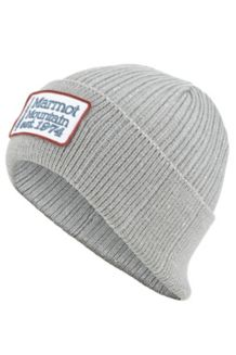 Retro Trucker Beanie, Grey Storm, medium