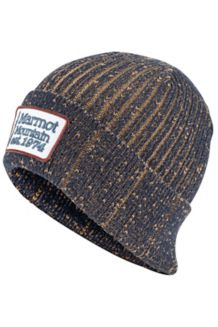 Retro Trucker Beanie, Dark Indigo, medium