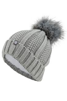 Wm's Bronx Pom Hat, Grey Storm, medium