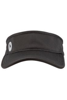 Tilden Running Visor, Black, medium
