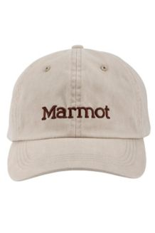 Marmot Twill Cap, Canvas/Bear, medium