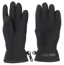 Kid's Fleece Glove, Black, medium