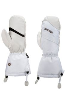 Wm's Warmest Mitt, Soft White, medium