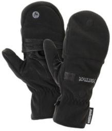 Windstopper Convertible Glove, Black, medium
