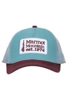 Retro Trucker Hat, Blue Agave, medium