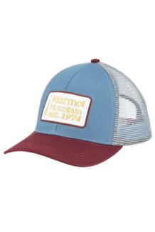 Retro Trucker Hat, Storm Cloud, medium