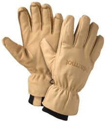 Basic Ski Glove, Tan, medium