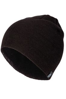 Lightweight Merino Beanie, Black, medium