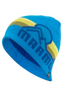 Reversible Retro Beanie, Clear Blue, medium