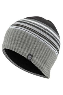 Boy's Striper Hat, Black, medium