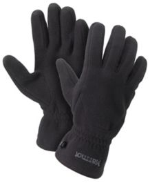 Fleece Glove, True Black, medium