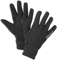 Wm's Connect Softshell Glove, Black, medium