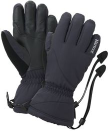 Wm's Flurry Glove, Black, medium