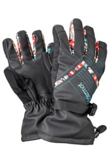 Wm's Katie Glove, Black, medium