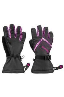 Wm's Katie Glove, Black/Deep Plum Freshies, medium