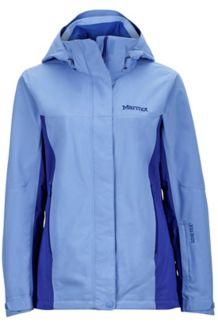 Wm's Palisades Jacket, Dewdrop/Royal Night, medium