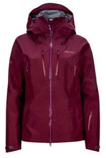 Wm's Alpinist Jacket, Dark Purple, medium