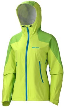 Wm's Adroit Jacket, Green Lime/Green Envy, medium