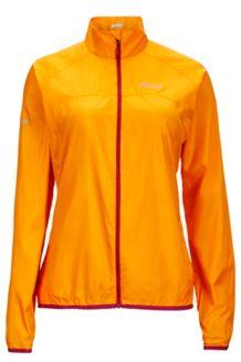 Wm's Trail Wind Jacket, Sweet Orange, medium
