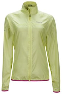 Wm's Trail Wind Jacket, Sunny Lime, medium