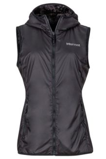 Wm's Furtastic Vest, Black, medium