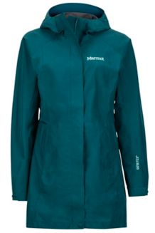 Wm's Essential Jacket, Deep Teal, medium