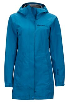 Wm's Essential Jacket, Slate Blue, medium