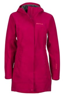 Wm's Essential Jacket, Sangria, medium