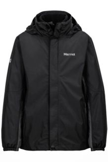 Boy's Northshore Jacket, Black/Slate Grey, medium