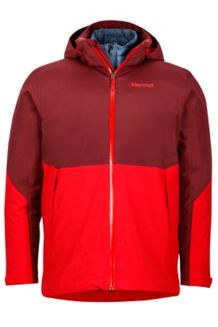 Featherless Component Jacket, Port/Team Red, medium