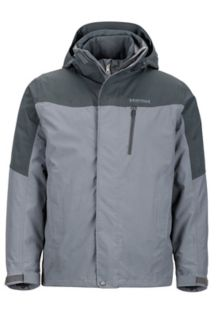 Bastione Component Jacket, Cinder/Slate Grey, medium