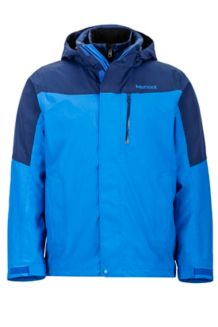 Bastione Component Jacket, True Blue/Arctic Navy, medium