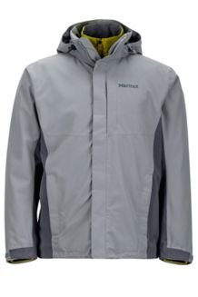 Castleton Component Jacket, Grey Storm/Steel Onyx, medium