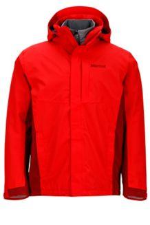 Castleton Component Jacket, Rocket Red/Brick, medium