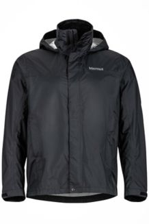 PreCip Jacket Tall, Black, medium