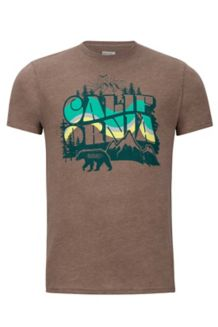 Greenery Tee SS, True Brown Heather, medium
