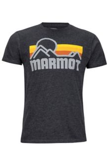 Marmot Coastal Tee SS, Dark Charcoal Heather, medium