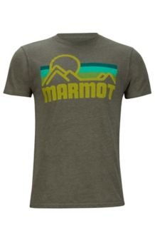 Marmot Coastal Tee SS, True Olive Heather, medium