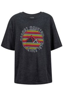 Boy's Purview Tee SS, Slate Grey Heather, medium