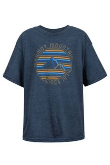 Boy's Purview Tee SS, Arctic Navy Heather, medium