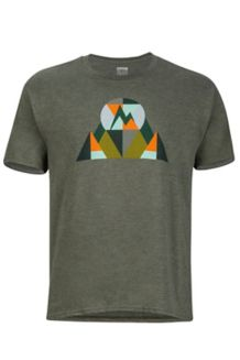 Hew Tee SS, Olive Heather, medium