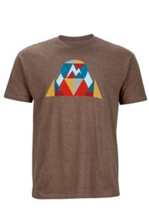 Hew Tee SS, Brown Heather, medium