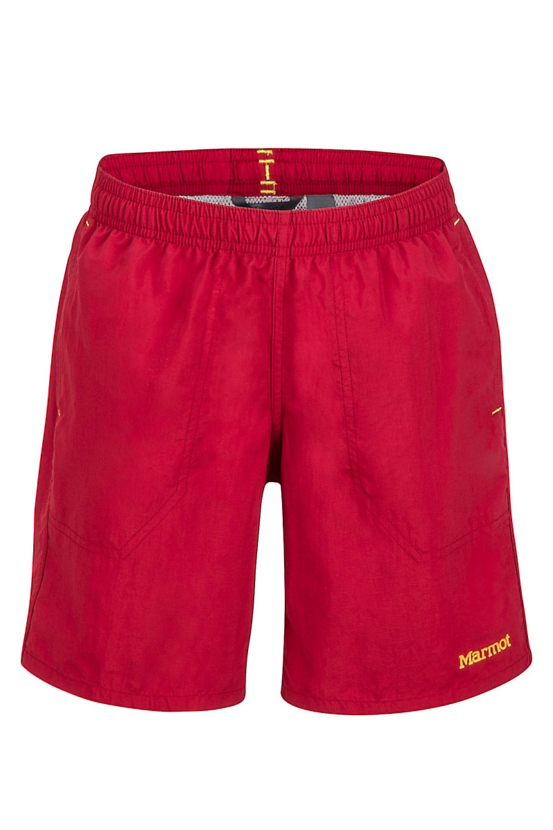 Boy's OG Short, Sienna Red, large